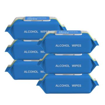 Factory Manufacture Hot Sale Alcohol Sanitizing Wet Wipe