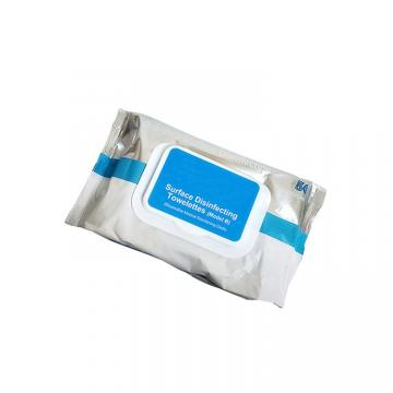50 PCS Sterilize Sanitary Wipes Without Residual Alcohol Hand Sanitizing Akcohol Wipes (W9)