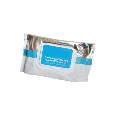 Alcohol hand sanitizing wipes 75% isopropyl alcohol antibacterial wet wipes