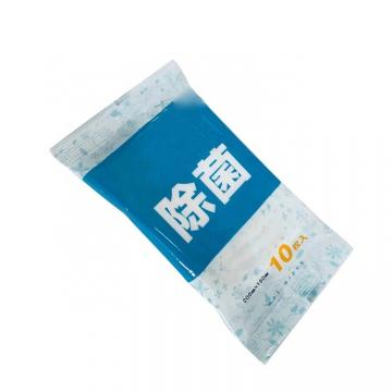 Quick Disinfecting Hand Wipes Cleaning Anti Bacterial Sanitizing 75% Alcohol Hand Wipes