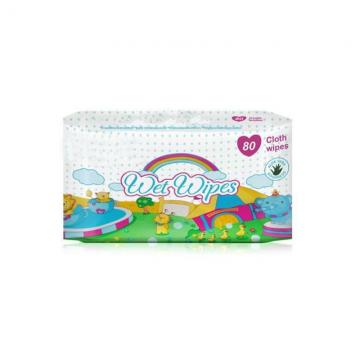 40 Pieces Antibacterial Sanitizer Hand Wipes 75% Alcohol Disinfectant Wet Wipes