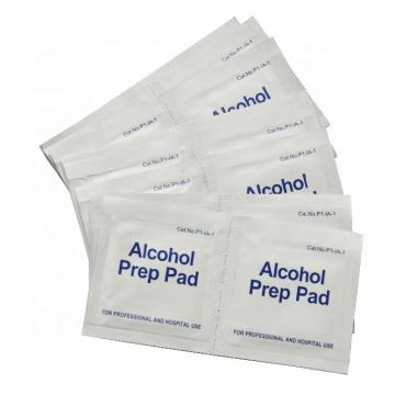 Spunlace Nonwoven Large Alcohol Pads De Alcohol 70% Medical Grade
