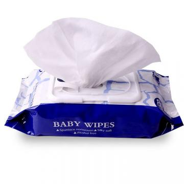 High efficient disinfectant 75% alcohol wet wipe for cleaning