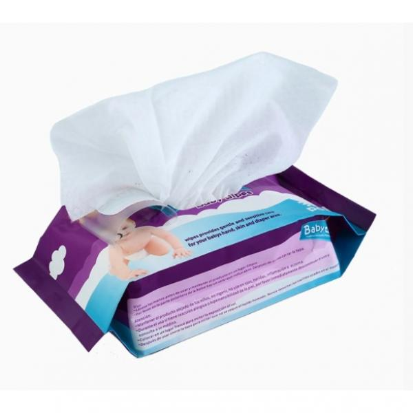 China Supplier Non-Medical Spunlace Cleaning Wet Wipes Alcohol Disinfectant Wipe