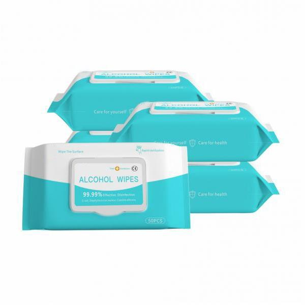 70% Alcohol Wipes Isopropyl with 10PCS