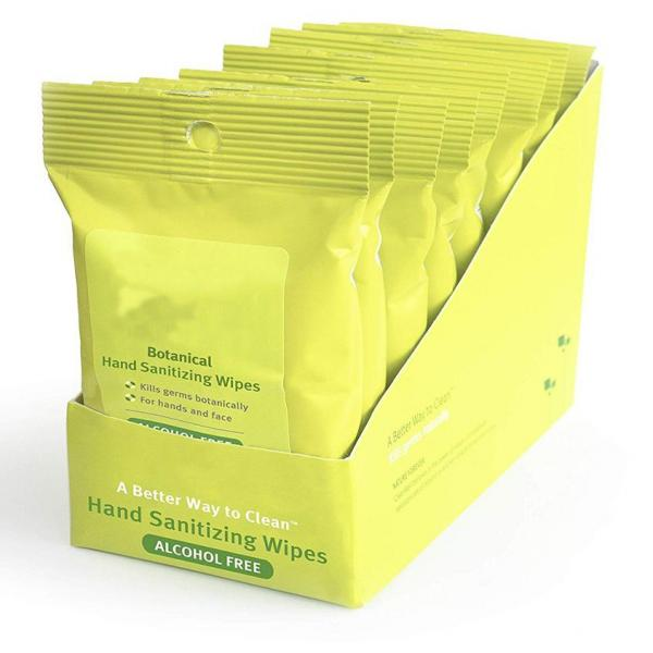 Chinese Manufacturer Private Label 75% Alcohol Based Wet Wipes