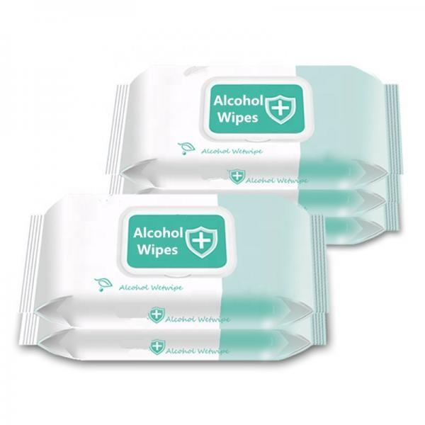 100count Household Protective Cleaning Wet Tissue Antibacterial Canister Disinfectant Wipe Hospital School Sanitizer 75% Alcohol Wet Wipes in Barrel