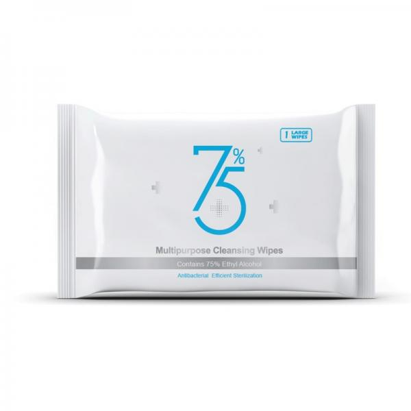 China Factory OEM 75% Alcohol Wipes 80PCS Alcohol Wet Wipes Disinfectant Wipes Alcohol