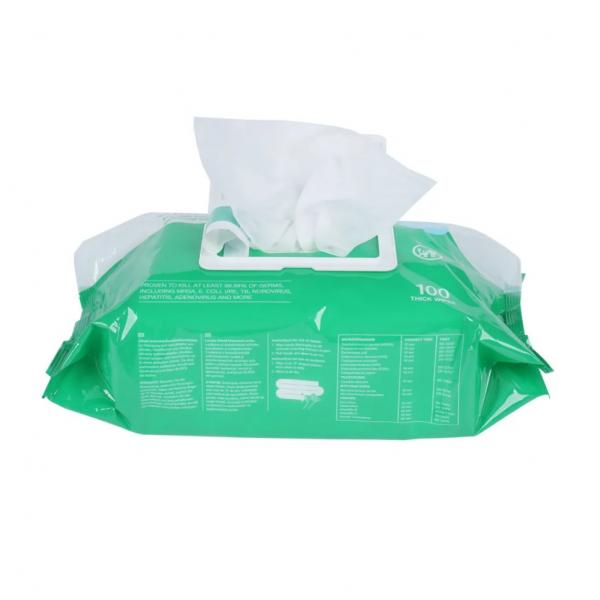 disinfecting antibacterial 80pcs gym non-alcohol hand clean sanitizing sanitary wipes