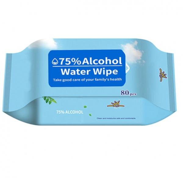 Daily alcohol free disinfecting wet hand sanitizing wipes