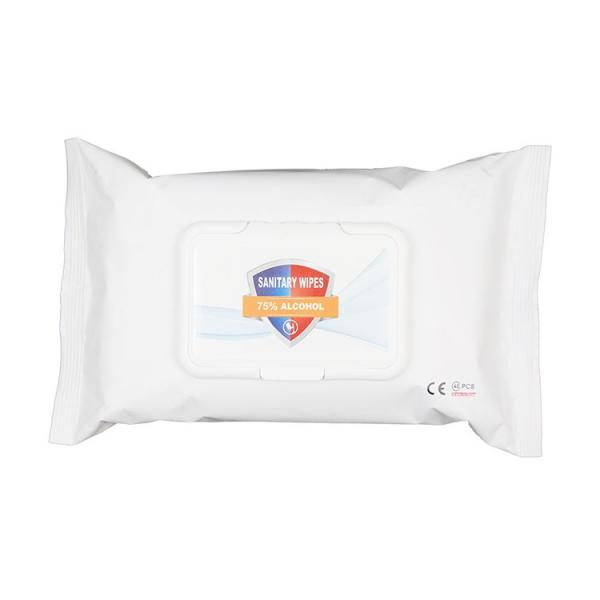 ReadyToShip Alcohol Wipes75% Alcohol Antibacterial Wet Wipes