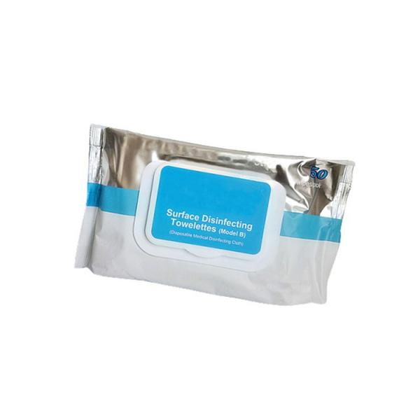 ECO finest 10pcs 75% Alcohol Hand Wipes-Antibacterial Sanitizer Quick Disenfecting Hand Wipes Cleaning Alcoholic Anti Bacterial