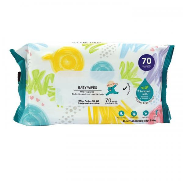Disinfectant wet wipes 60pcs hand cleaning Antibacterial wipes 50% 75% alcohol wet wipes