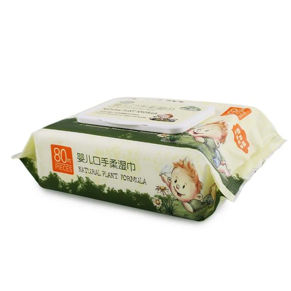Cleaning wet wipes alcohol free wipes for baby and adult manufacturer in China