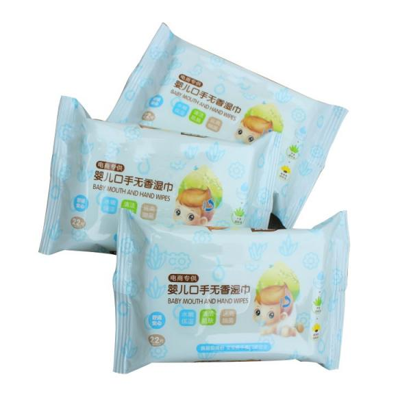 40G Sheet Weight Antibacterial Happy Fresh Baby Wet Wipe For Antiseptic Natural Unscented Sweet Cloth Wipes