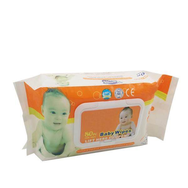 Containing 75% Alcohol Antibacterial Adult 50pcs Wet Wipes