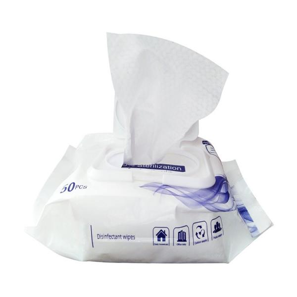 Disinfection 70% Isopropyl Alcohol Pad Wipes Ro Water Freely Samples Offered