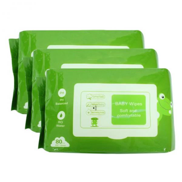 Individual wrapped 50 pieces a box alcohol free antibacterial Non woven Cleaning Wipe hand Tissue Wipes